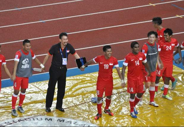 """LIVE"" screening of Singapore vs Indonesia AFF Suzuki Cup match at Jalan Besar Stadium"