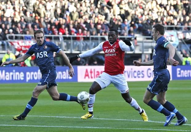 Feyenoord de baas in Alkmaar
