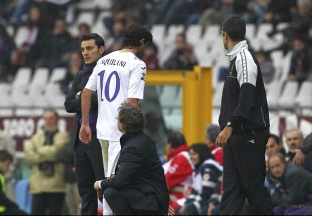 In casa Fiorentina possono tirare un sospiro di sollievo: nulla di grave per Aquilani, solo dieci giorni di stop