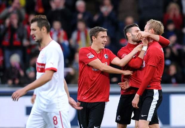 Der SC Freiburg schießt den VfB Stuttgart mit 3:0 aus dem Stadion