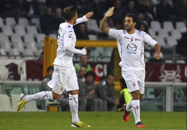 REVIEW Serie A Italia: Mounir El Hamdaoui Selamatkan Fiorentina