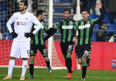 Sassuolo-Fiorentina LIVE! 1-1, Floccari