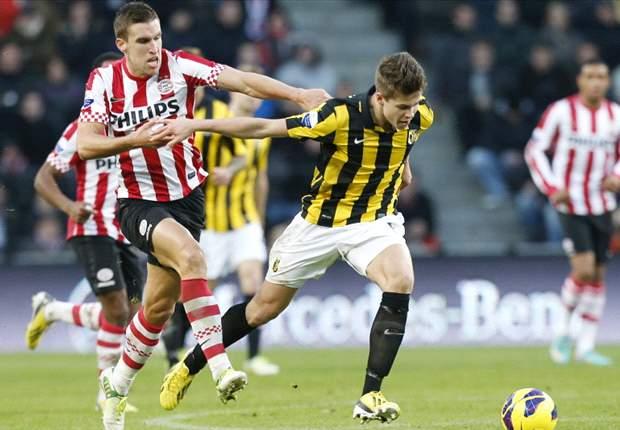 REVIEW Eredivisie Belanda: Vitesse Arnhem Tundukkan PSV Eindhoven
