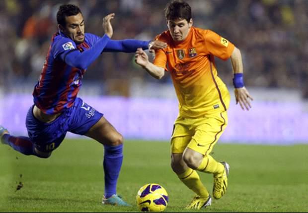 Levante-Barcellona 0-4: Messi, Iniesta e Fabregas scatenano il solito tsunami blaugrana