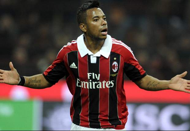 Santos confirms written offer for AC Milan's Robinho