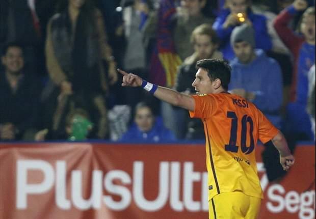 Messi, a tres goles del récord de Gerd Müller