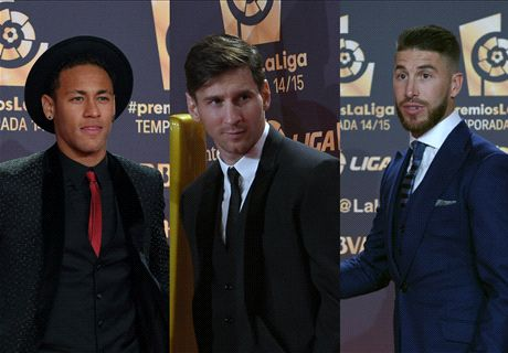 Messi named La Liga's best player