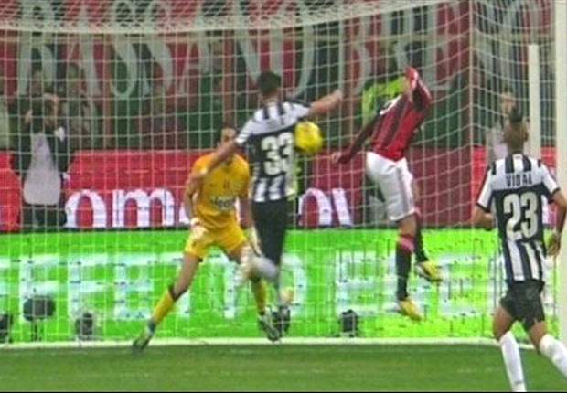 AC Milan-Juventus referee defends spot kick decision