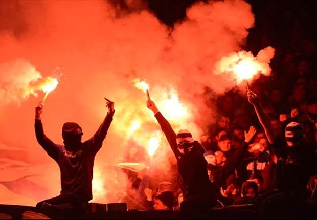 Rauchbomben, Hass-Banner, Bengalos - 50.000 Euro Strafe für Schalke 04