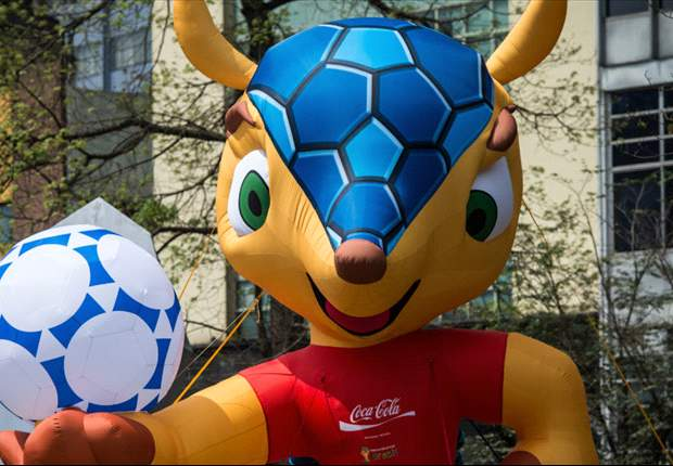 Fuleco heißt das Maskottchen der kommenden WM in Brasilien