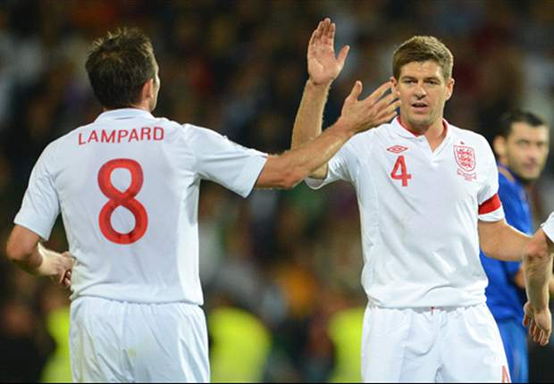 Frank Lampard feels that formations have prevented a partnership with Steven Gerrard