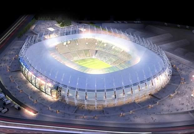 Eerste stadion klaar voor WK