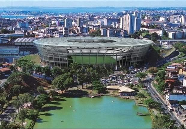 Arena Fonte Nova in Salvador