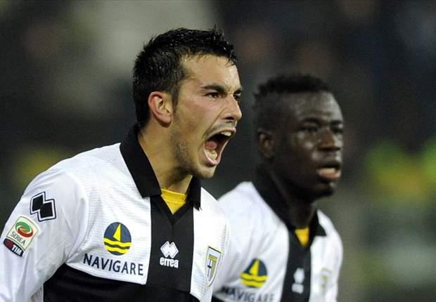 """Parma batte Inter con merito, la gioia del match winner Sansone: """"Peccato solo che Milito non mi abbia dato la maglia, forse era arrabbiato..."""""""