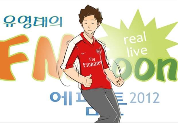 [웹툰] 박주영, 손흥민, 이영표