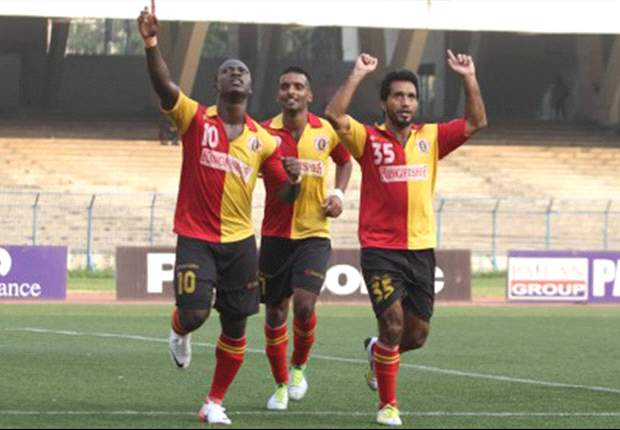 East Bengal 1-0 Salgaocar FC: Chidi's goal keeps Morgan's men on top of the I-League