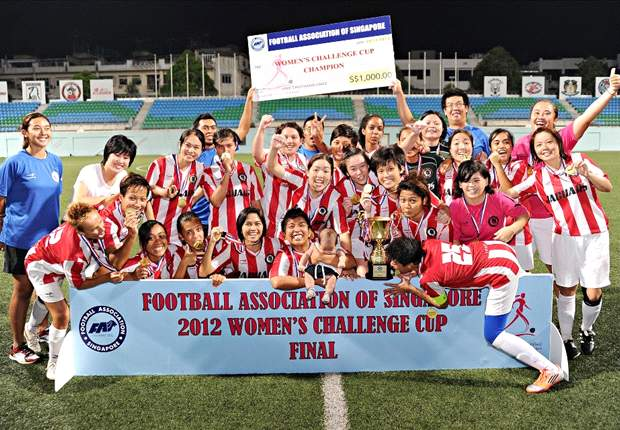 Tanjong Pagar United do double by clinching FAS Women's Challenge Cup
