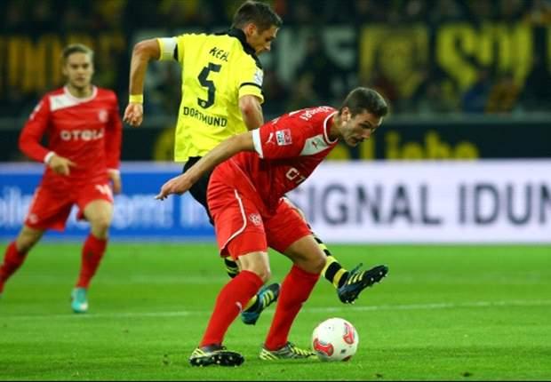 Fortuna Dusseldorf Paksa Borussia Dortmund Berbagi Angka