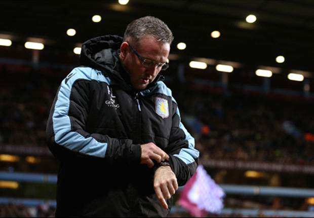 Lambert rues lack of goals after dominate display against Stoke