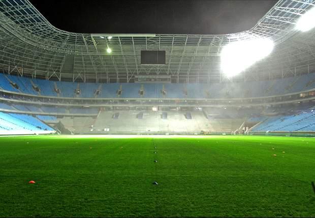 Grêmio: nova cota de ingressos para inauguração da Arena