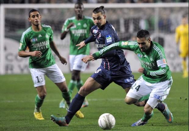 Coppa di Lega francese - PSG eliminato ai rigori dal Saint Etienne. Lille, Montpellier e Rennes avanti