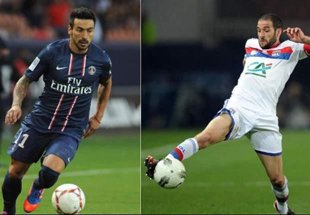 Lavezzi y Licha López compiten por ser los futbolistas más sexys de Francia