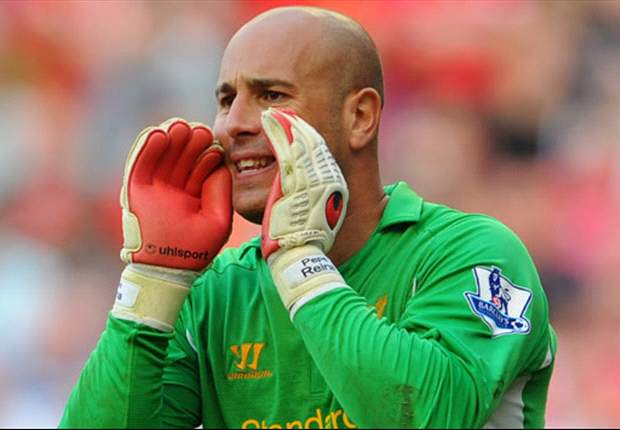 Liverpool's Reina: I'm very happy with our manager