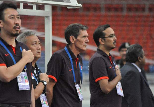 'This referee is very interesting' - Singapore coach Radojko Avramovic after the 1-0 defeat to Indonesia