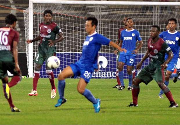 Dempo SC 3-0 Mohun Bagan: Ten-men Mariners prove to be no match against the Goans