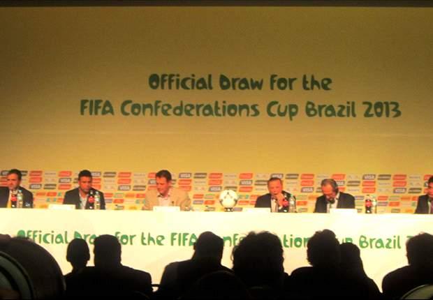 Seleção Brasileira terá Itália como rival na fase de grupos da Copa das Confederações