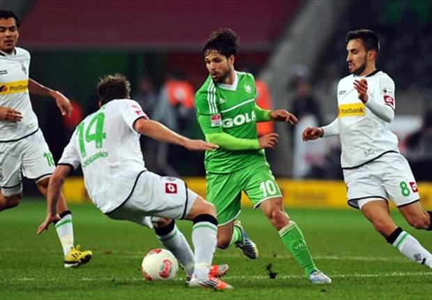 Gladbach feiert Sieg gegen Wolfsburg: Arango glänzt mit einem Traumtor