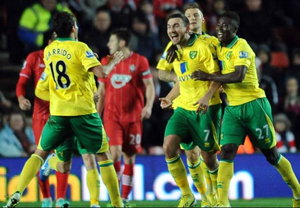 Southampton 1-1 Norwich City: Snodgrass saves point after Lambert opener