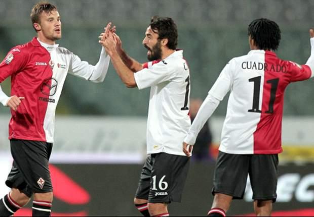 REVIEW Coppa Italia: Bekuk Juve Stabia, Fiorentina Melaju