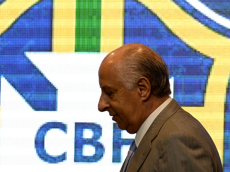 Del Nero asks for temporary leave from CBF amid Fifa corruption charges