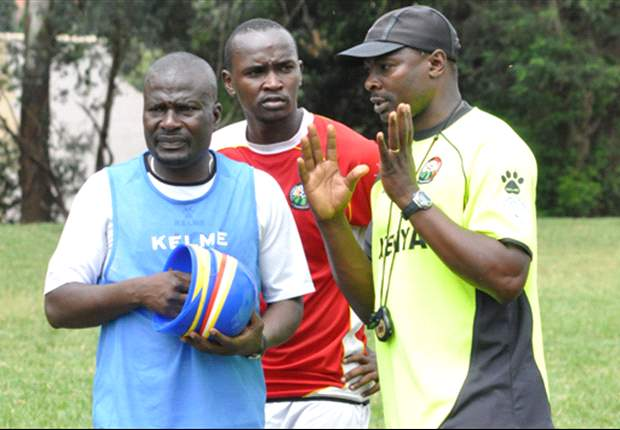 Harambee Stars stand in coach James Nandwa praises debut boy David Gateri