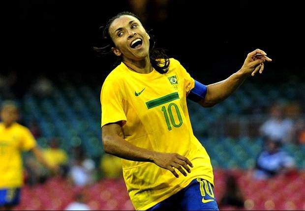 Marta é mais uma vez finalista ao prêmio de jogadora do ano da Fifa