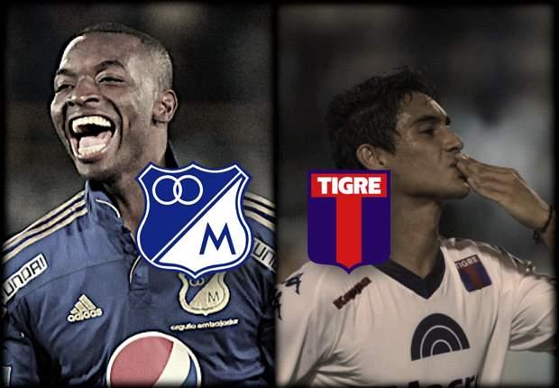 En Vivo: Millonarios - Tigre, seguí la Copa Sudamericana en Goal.com