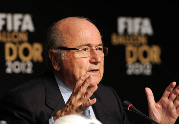 Blatter: Players walking off is not the solution to racist abuse