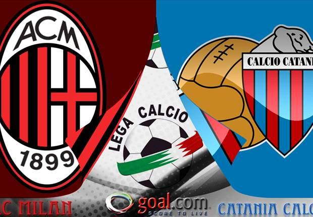 Catania-Milan: Sigue en vivo la Serie A por Goal.com