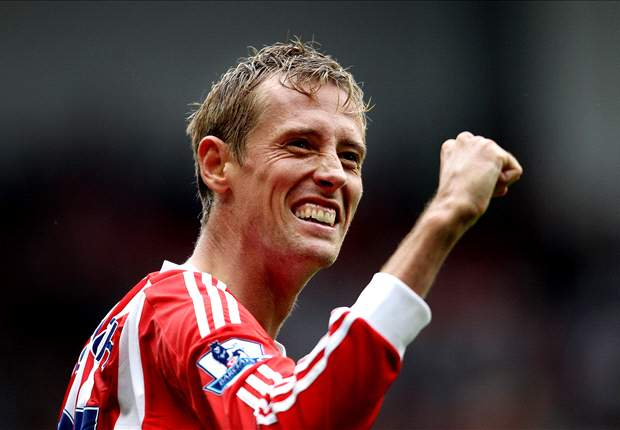 Crouch 'very happy' at Stoke despite QPR rumours