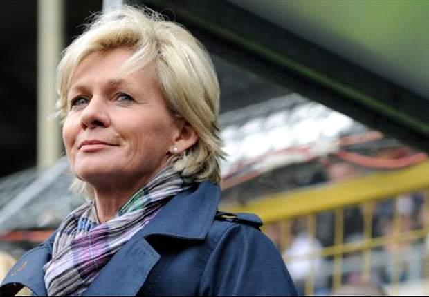 Bundestrainerin Silvia Neid blickt bereits auf die EM in Schweden
