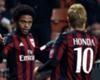 Luiz Adriano, Keisuke Honda, Milan