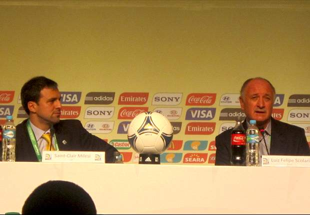Luiz Felipe Scolari: No hay favoritos en la Copa Confederaciones