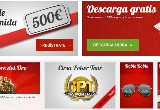 CIRSA.es, la mejor opción para iniciarse en el póker online