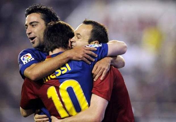 ESP, Barça - Le groupe est au complet