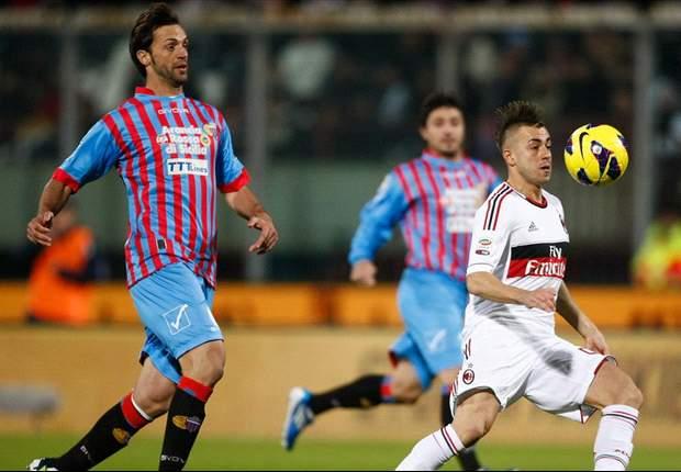 Laporan Pertandingan: Catania 1-3 AC Milan