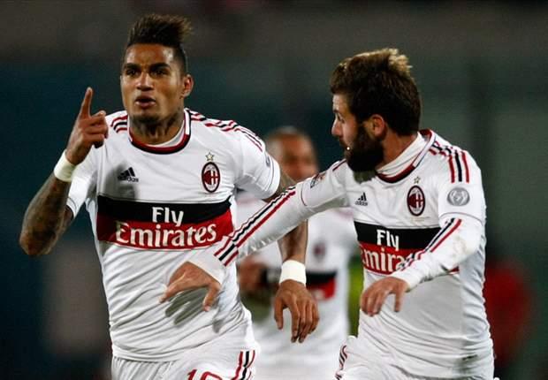 Catania 1-3 A.C Milan: Los rossoneros enfilan hacia las primeras posiciones