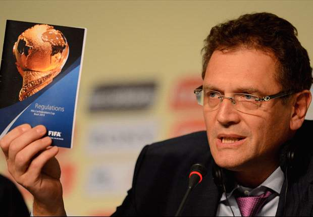 Valcke fears for World Cup pitches
