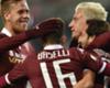 Torino: Baselli e Maxi Lopez ko