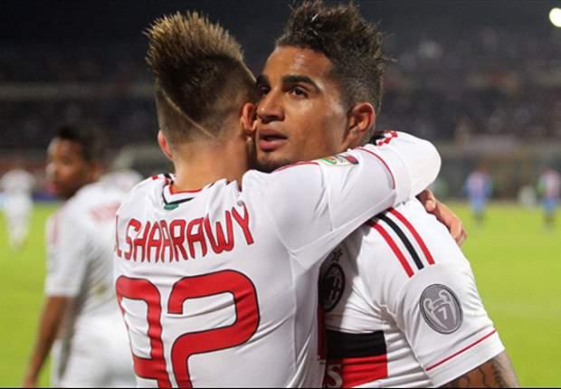 Jogadores do Milan recebem apoio após abandonarem amistoso
